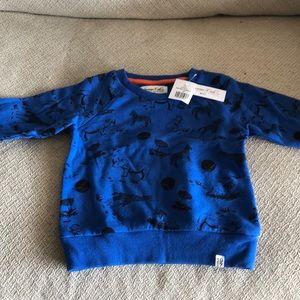 Sovereign Code Blue Sweatshirt - Boys 2T - NWT